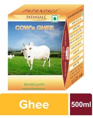 PATANJALI Cow Ghee, 500 ml