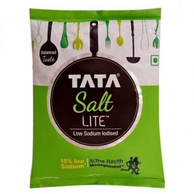 Tata Lite Free Flow Iodised Salt 1 kg