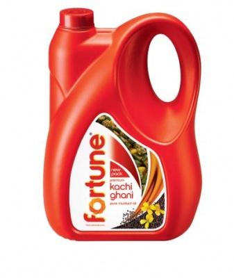 Fortune Kachi Ghani Mustard Oil 5 L (Can)