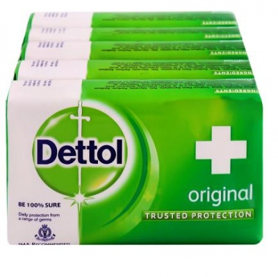 Dettol Original Soap 125 g (Pack of 4)