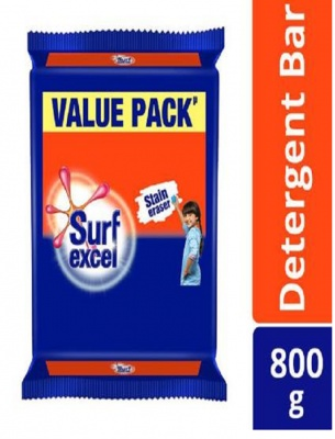 Surf Excel Detergent Bar 200 g (Pack of 4)