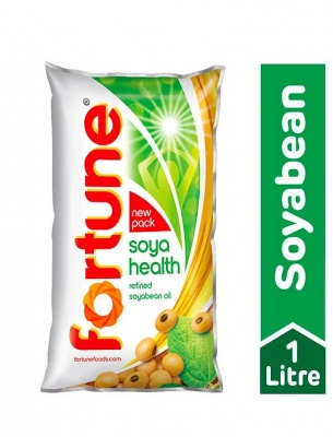 Fortune Refined Soyabean Oil 1 L (Pouch)
