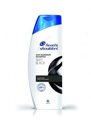 Head & Shoulders Anti Dandruff Shampoo Silky Black 340 ml