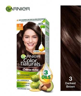 Garnier Color Naturals Darkest Brown 70 ML