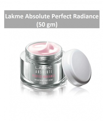 Lakme Absolute Perfect Radiance Skin Brightening Light Creme With Sunscreen, 50 g