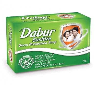 Dabur Sanitize Germ Protection Soap, 75 g