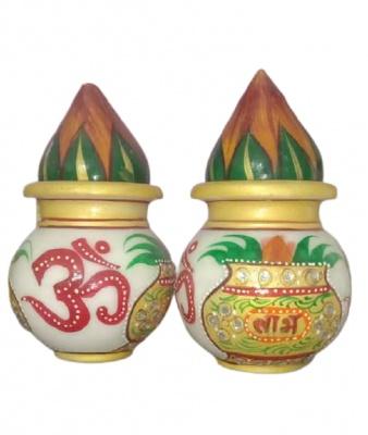 Puja Kalash Marble