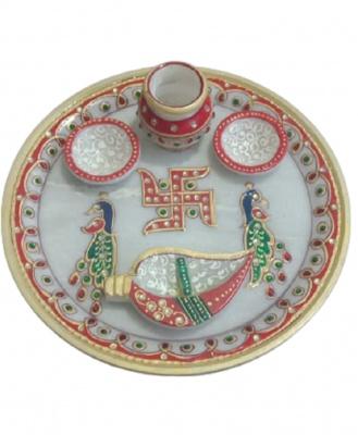 Puja Thali Marble